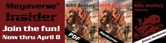 Rifts Bestiary Megaverse Insider