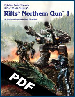 Cyber-Insider - Rifts Northern Gun One