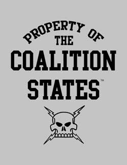 Property of the Coalition States T-Shirt