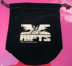Rifts Dice Bag - Black