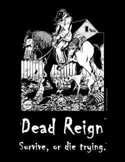 Dead Reign Survive or Die Trying T-Shirt