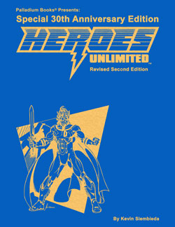 Heroes Unlimited 30th Anniversary Hardcover