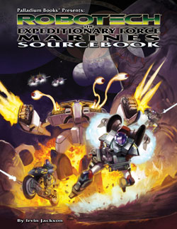 Robotech UEEF Marines Sourcebook One