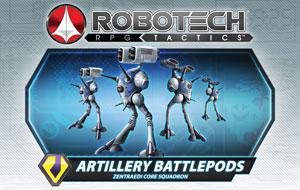 Zentraedi Artillery Battlepods