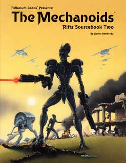 Rifts Sourcebook 2: The Mechanoids