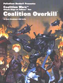 Rifts Coalition Wars Two: Coalition Overkill