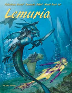 Rifts World Book: Lemuria