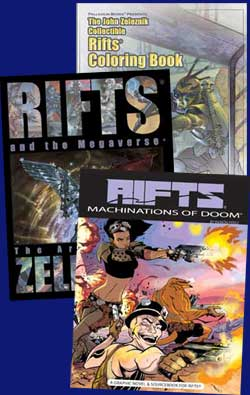 Rifts Art Book Special