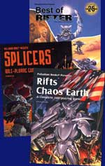 Rifts Chaos Earth, Splicers &amp; More Special