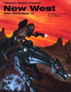 Rifts World Book 14: New West Siembieda, Kevin Palladium Books